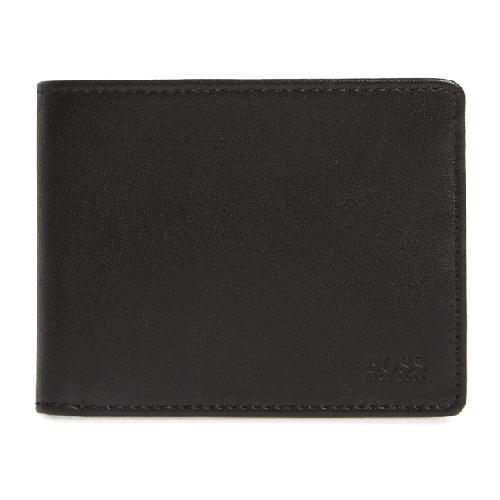 BOSS Majestic Leather Bifold Wallet