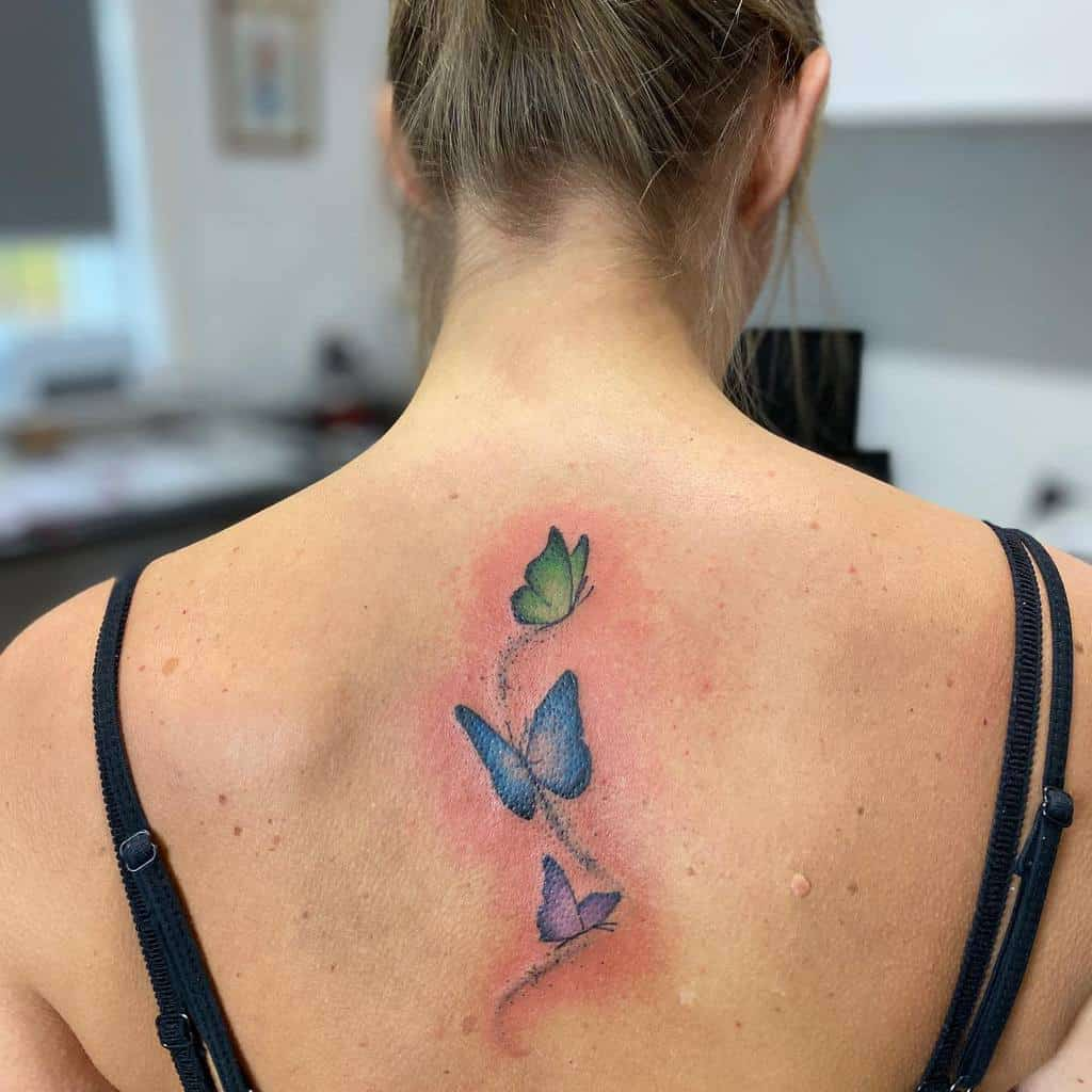 Back Butterfly Tattoo Meaning lovingink