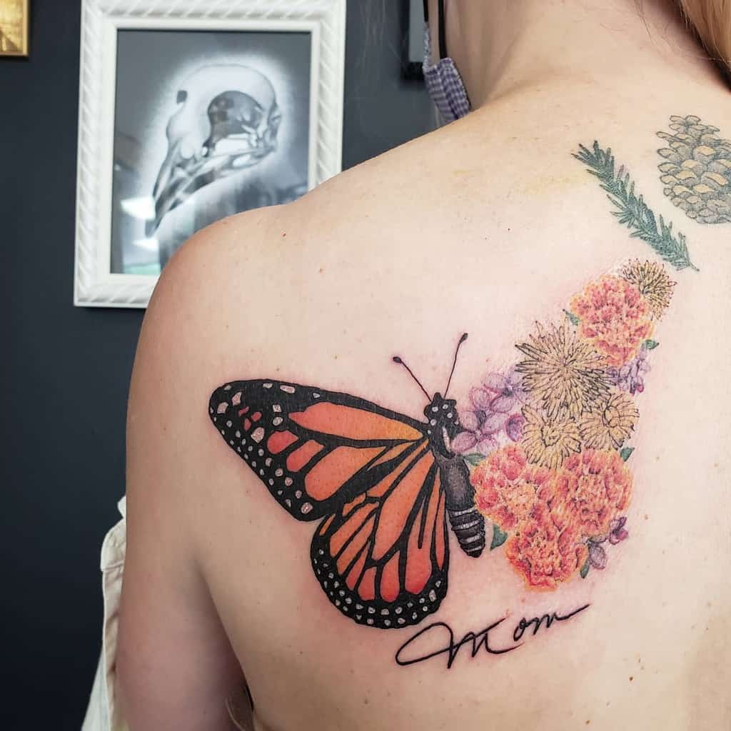 Back Butterfly Tattoo Meaning queenmabofspells