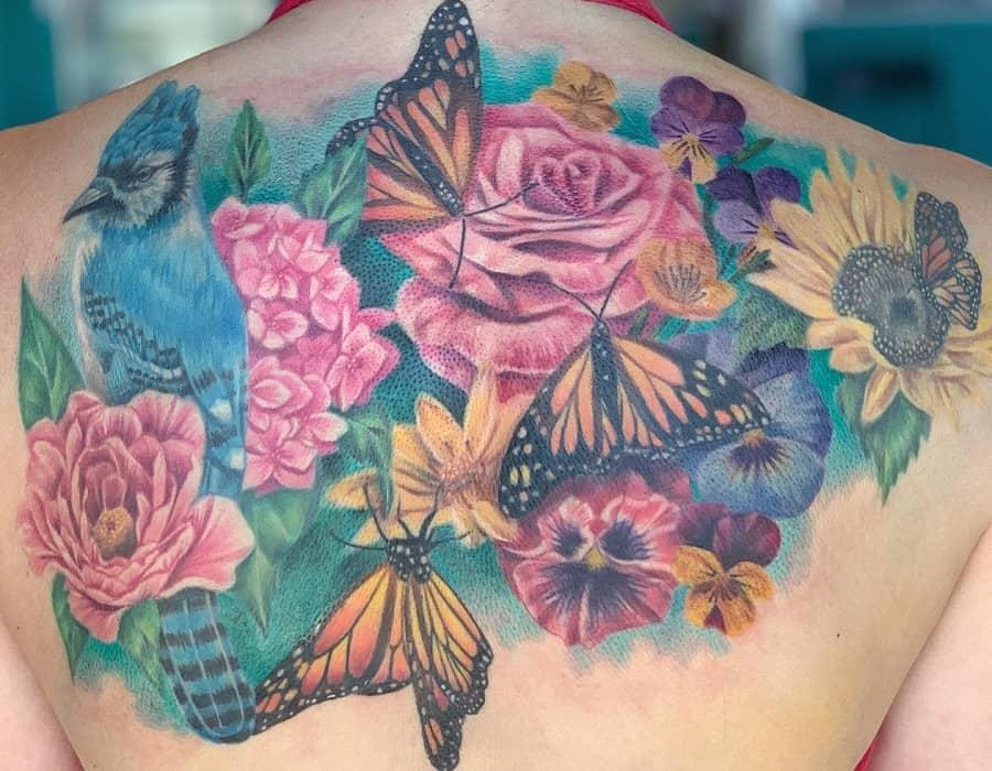 Top 63 Best Monarch Butterfly Tattoo Ideas – [2021 Inspiration Guide]