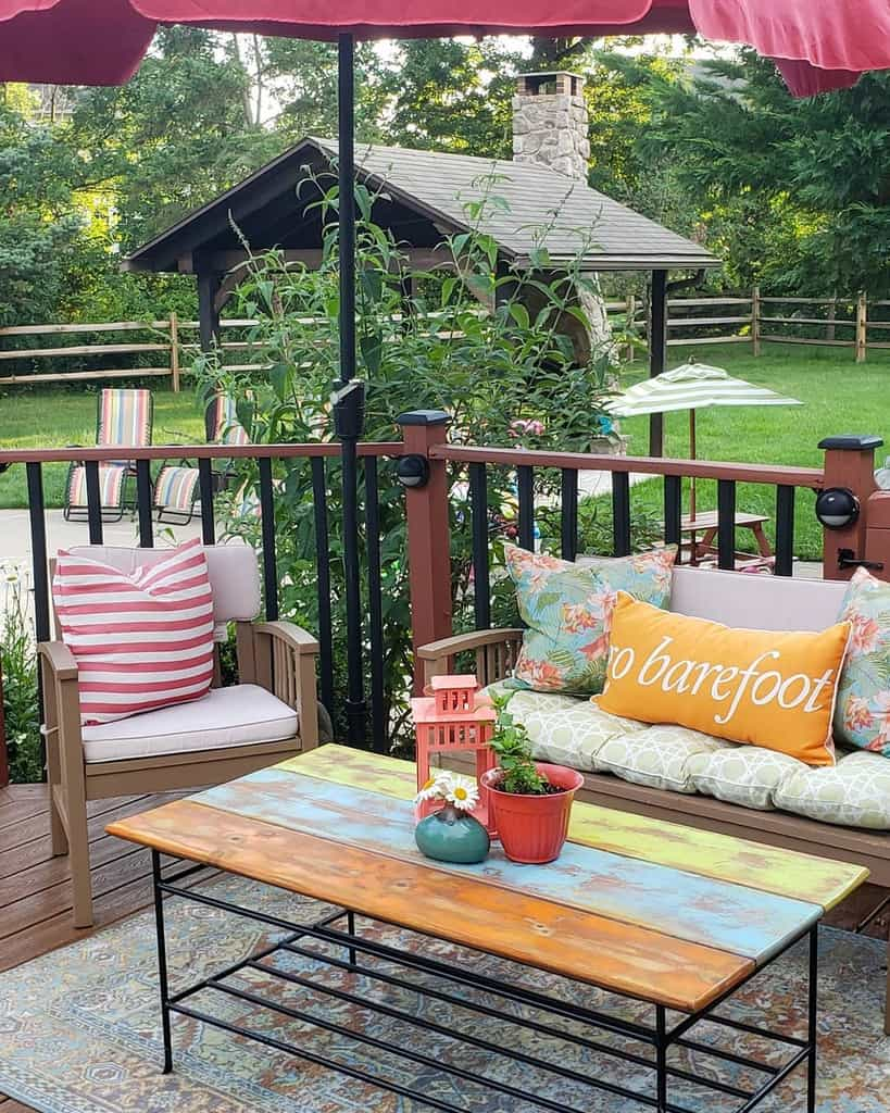 Backyard Deck Decorating Ideas -colombianitahaha