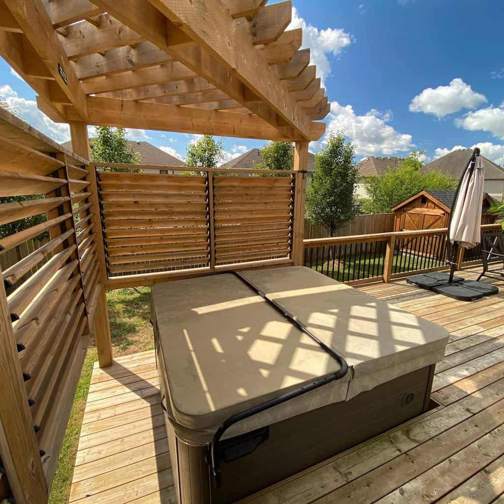 Backyard Deck Decorating Ideas -tlclandscapingdesignpools