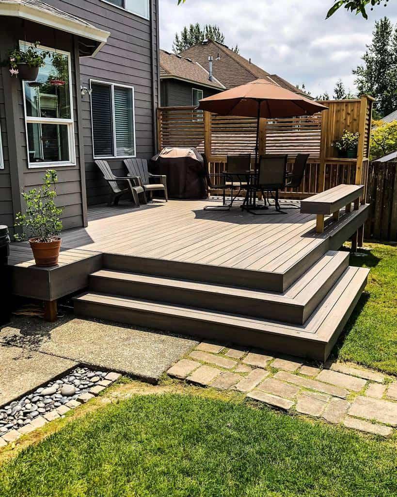 Backyard Deck Privacy Ideas -cdepdx