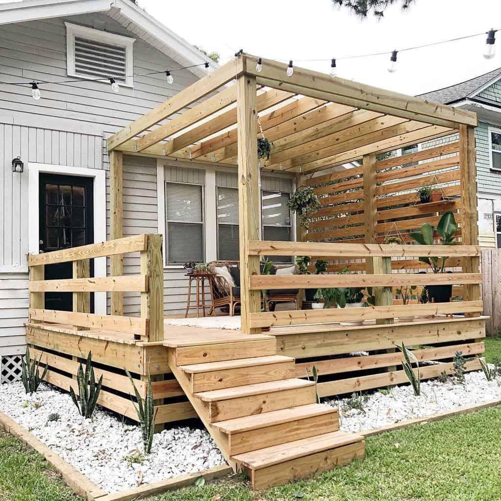 Backyard Deck Privacy Ideas -jessica.lyn.smith