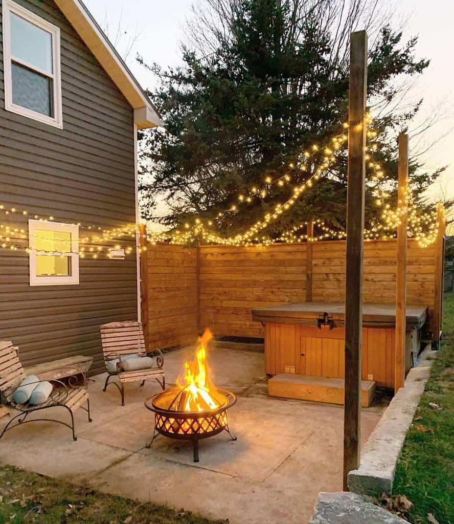 Backyard Deck Privacy Ideas -landjdesignandrenovation