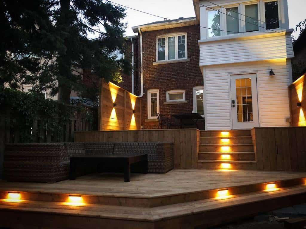 Backyard Deck Privacy Ideas -precisionlandscaping.ca