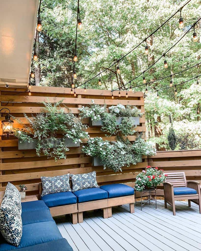 Backyard Deck Privacy Ideas -revealmydiy