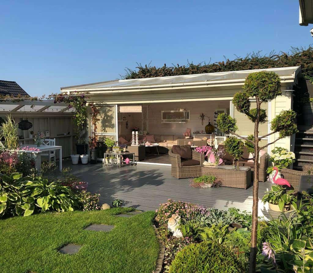 Backyard Patio Garden Ideas -oddnyshage