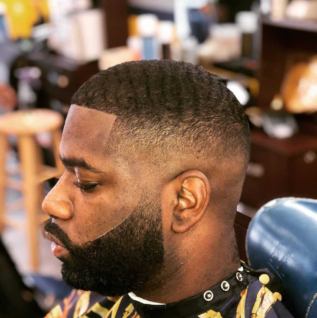 Bald Fades for Men With Wavy Hair stone_da_barber