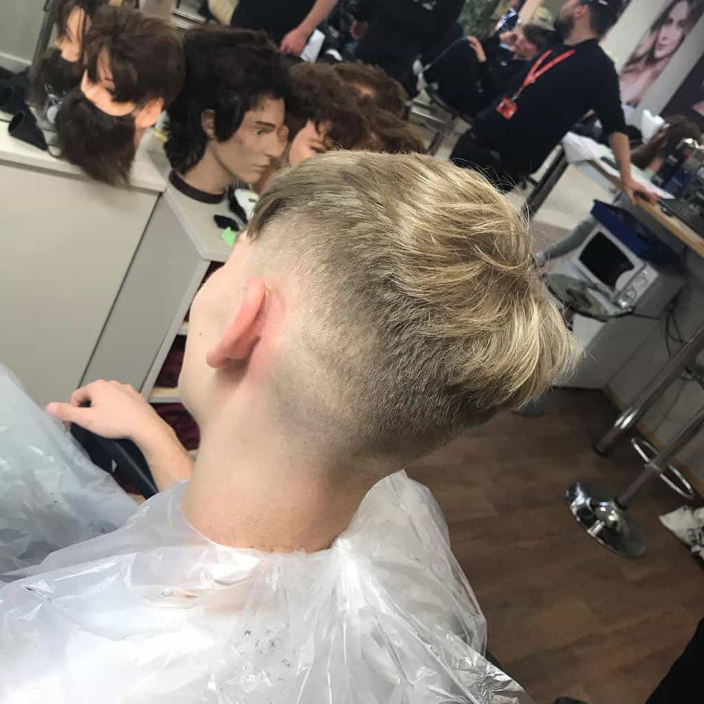 Bald Fades for Men With Wavy Hair willbrownbarbering