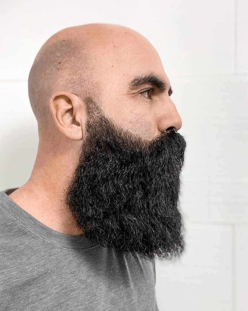 Bald With Beard