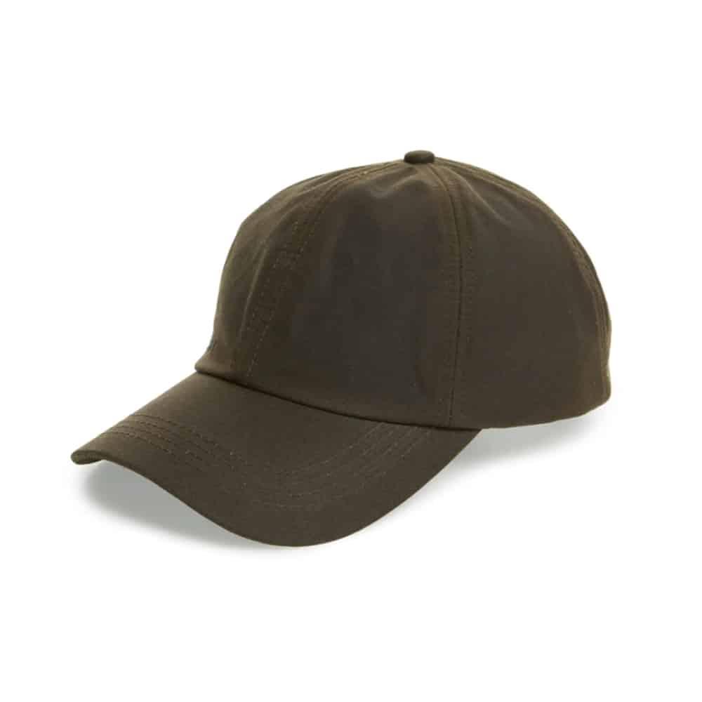 Barbour Waxed Cotton Baseball Cap