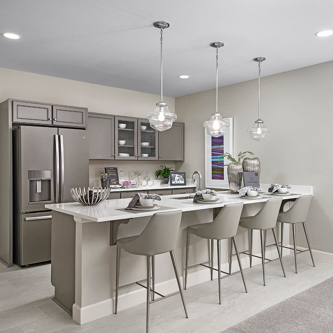Modern Basement Kitchen Ideas -richmondamerican