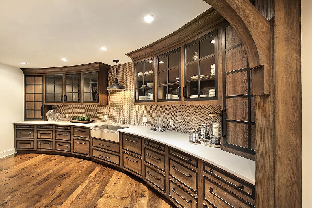 Rustic Basement Kitchen Ideas -divvyhouse