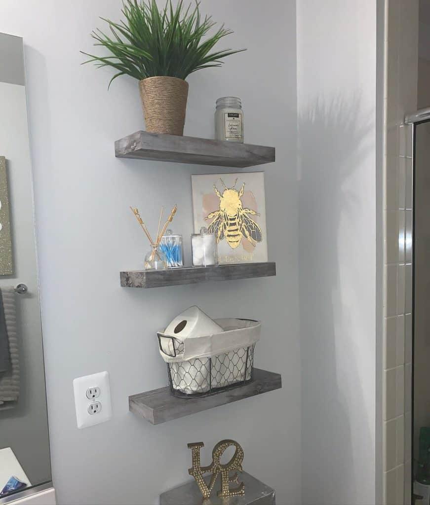 Bathroom Shelving Ideas frugal_homes