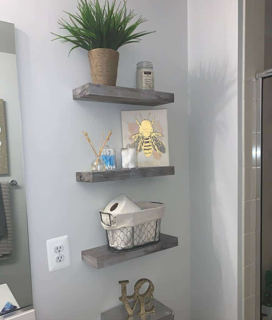 Bathroom Shelving Ideas frugal_homes
