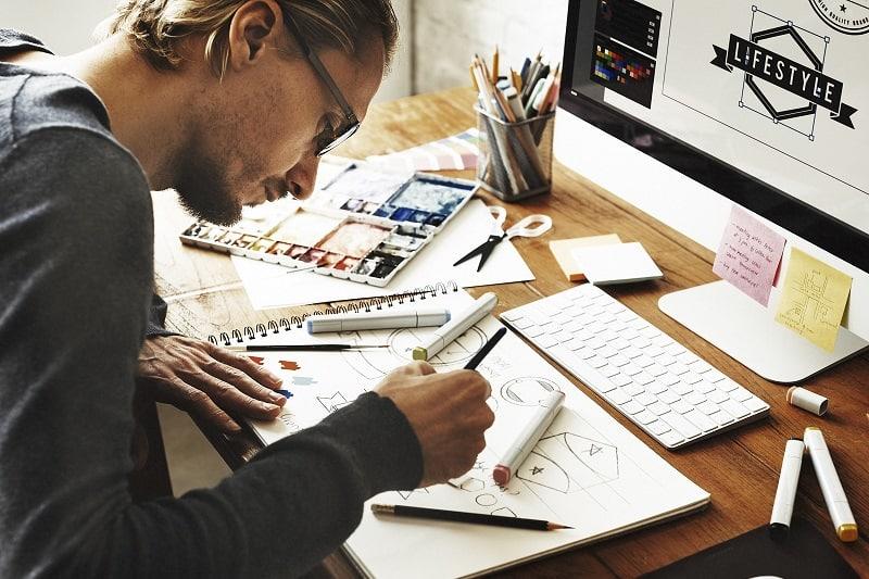 Be a freelance graphic designer or illustrator.