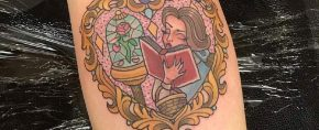 Top 100 Best Beauty and the Beast Tattoos [2020 Inspiration Guide]
