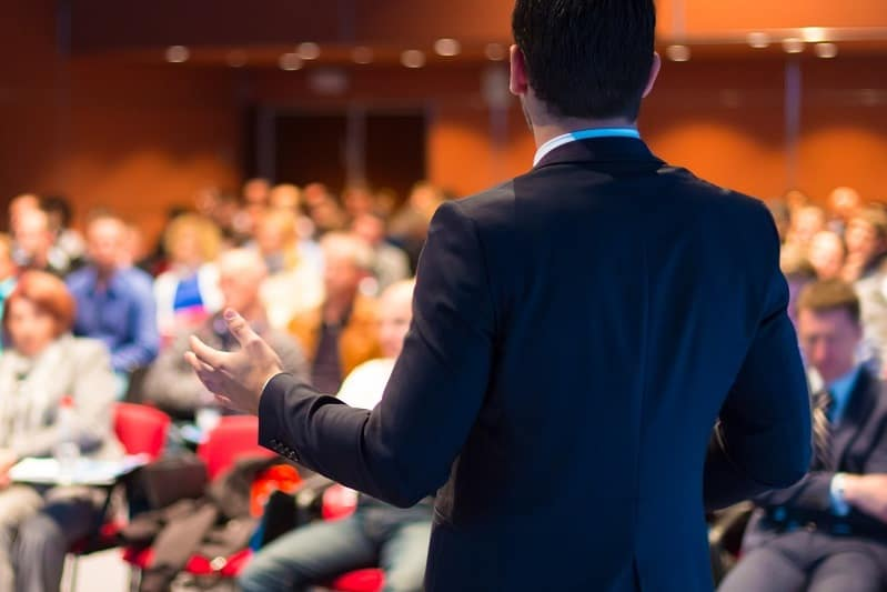 Become a professional speaker.