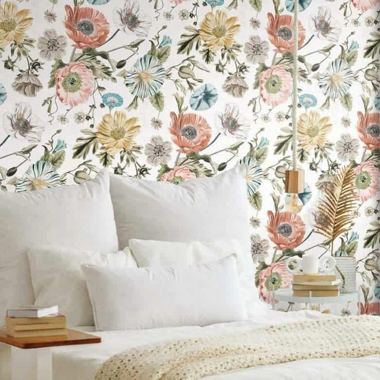 Bedroom Temporary Wall Ideas -renovatewallcoverings
