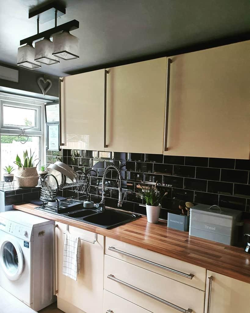 Beige Kitchen Cabinet Color Ideas renovatingno.64