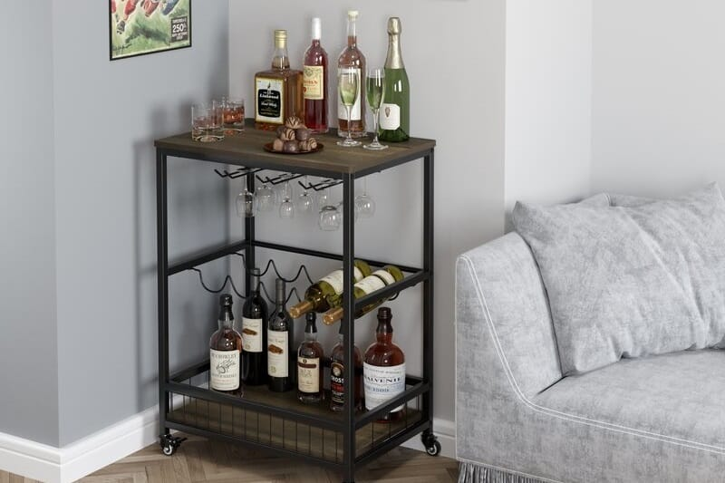 The 10 Best Bar Carts for Entertaining