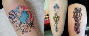 Top 50 Best Kingdom Hearts Tattoos – [2020 Inspiration Guide]
