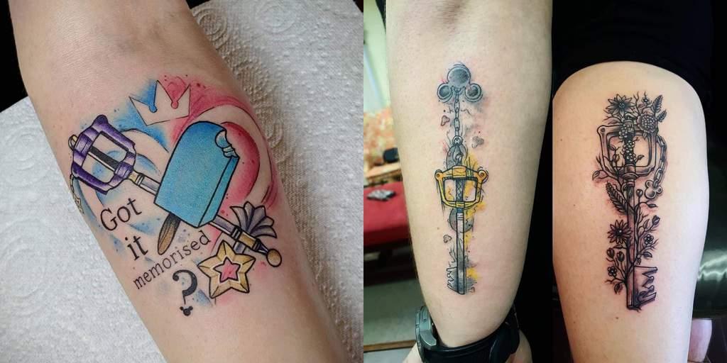 Best Kingdom Hearts Tattoos