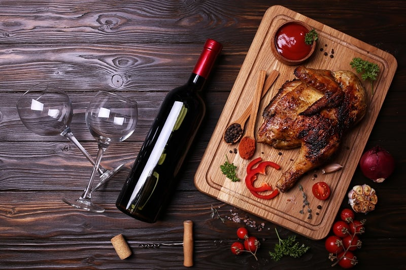 The Best Wine To Have With Chicken