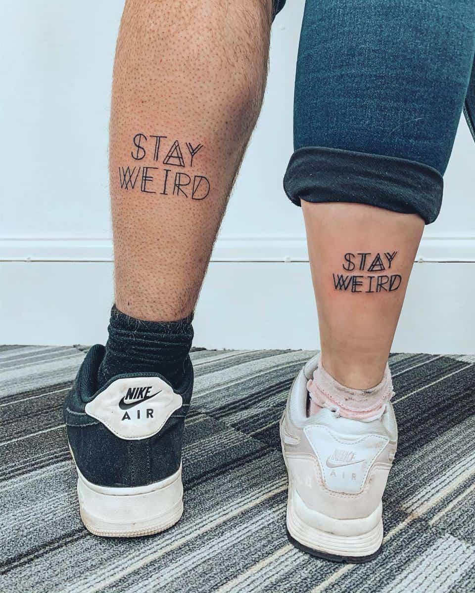 Bestfriend Matching Tattoos goldenbeezzztattoo