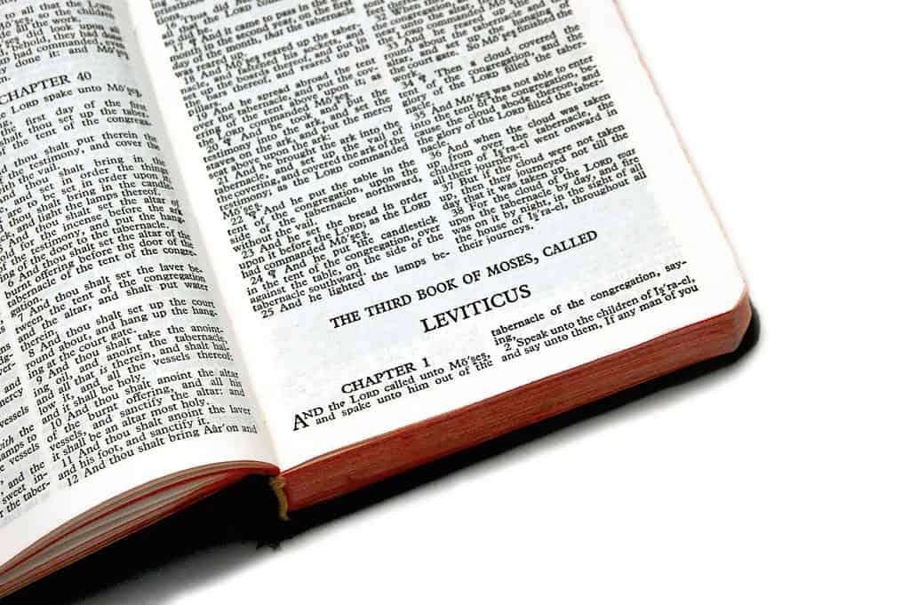 Bible Passage Leviticus