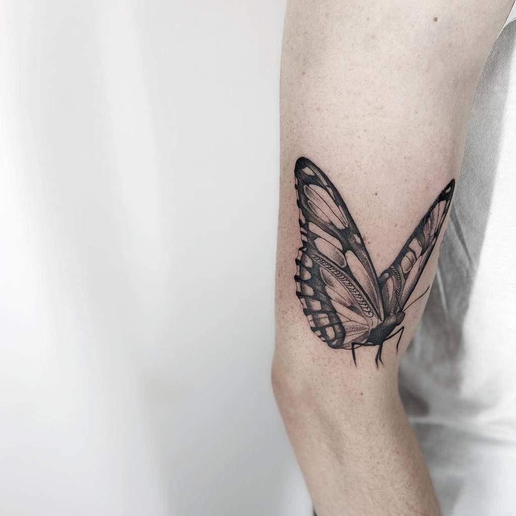 Black Butterfly Tattoo blackdrop__