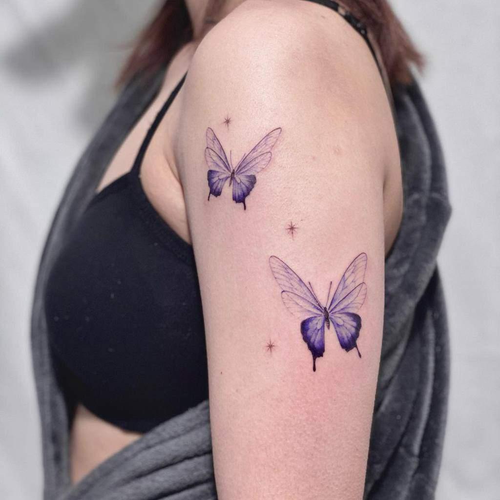 Black Butterfly Tattoo ondo.tattoo