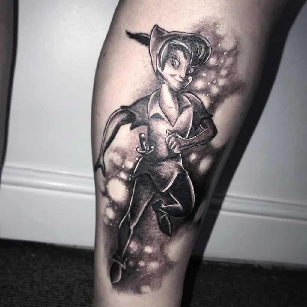 Black Peter Pan Tattoo Lucedishtattoo