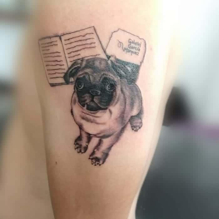 Black Pug Tattoo panteranegratattoobarber
