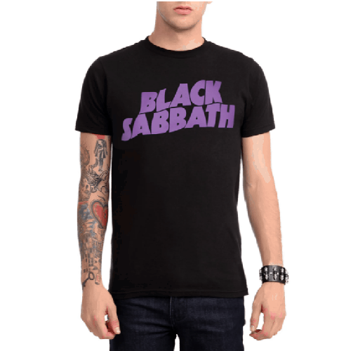 Black-Sabbath-Purple-Logo-T-shirt