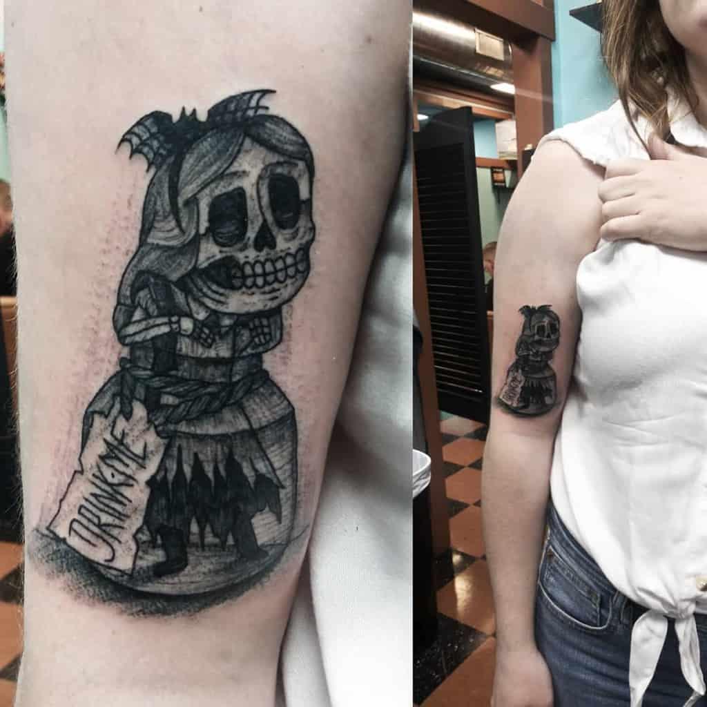 Black And Gray Tattoos Alice In Wonderland George Labrada