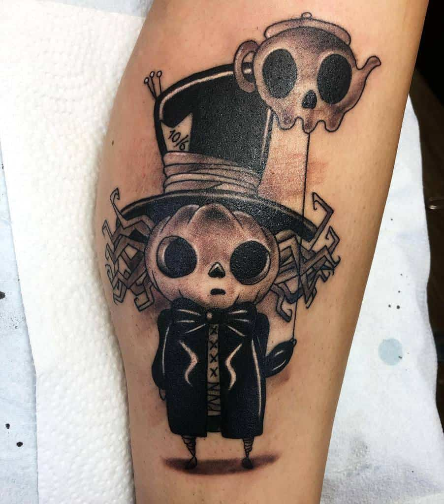 Black And Gray Tattoos Alice In Wonderland Richwithcolor