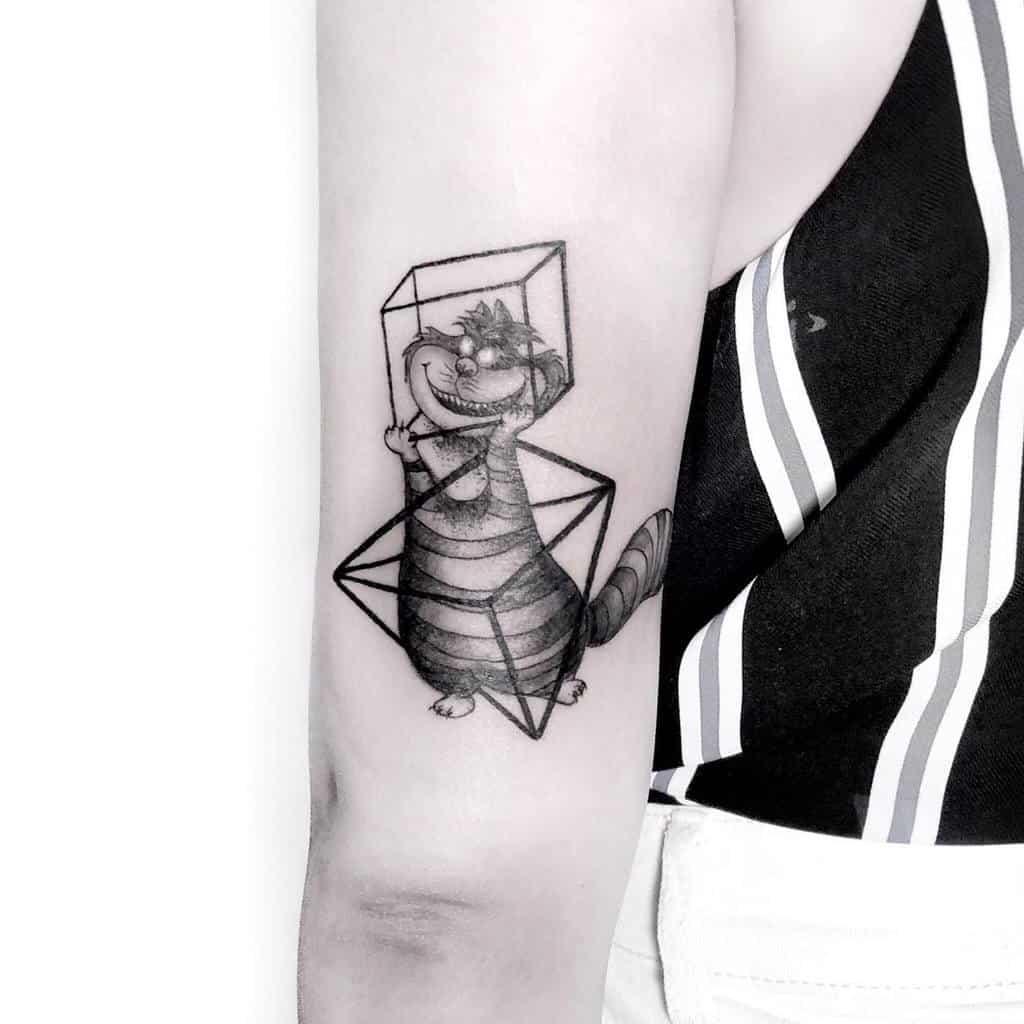 Black And Gray Tattoos Alice In Wonderland Seraphinks