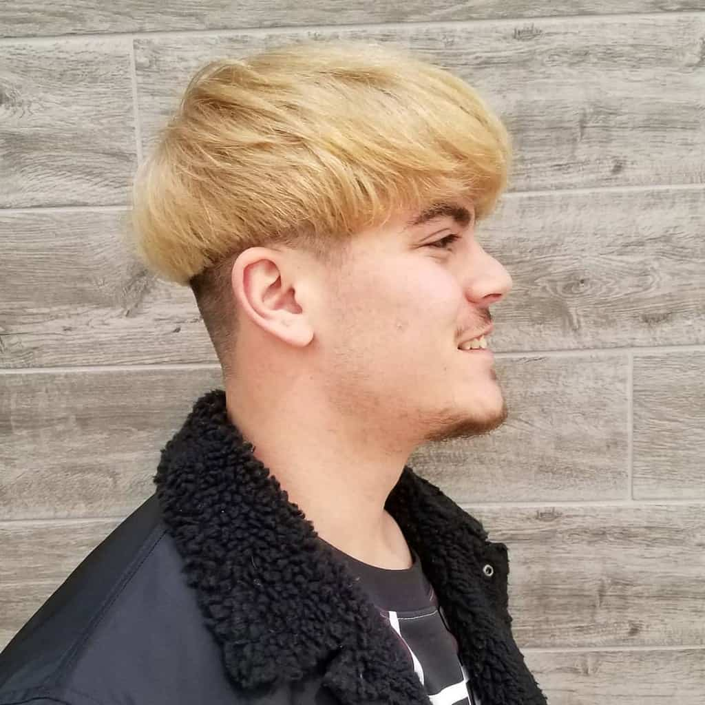 Blond Bowl Cut For Flaxen Haired Dudes