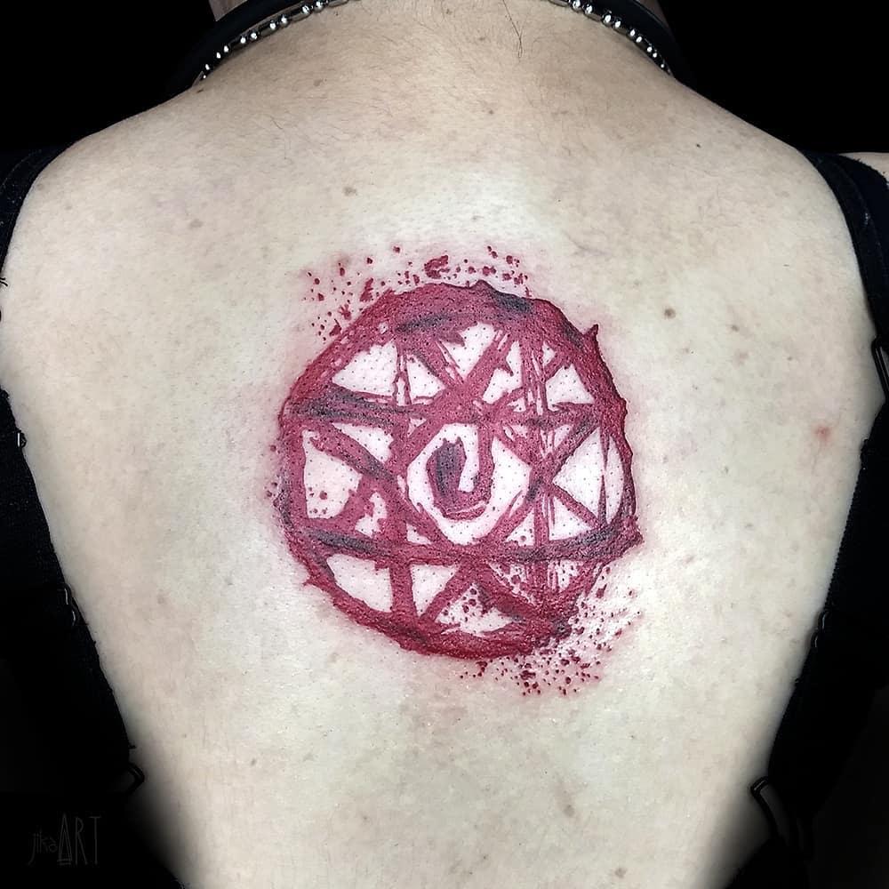 Blood Rune Tattoos Full Metal Alchemist Jikaartstf