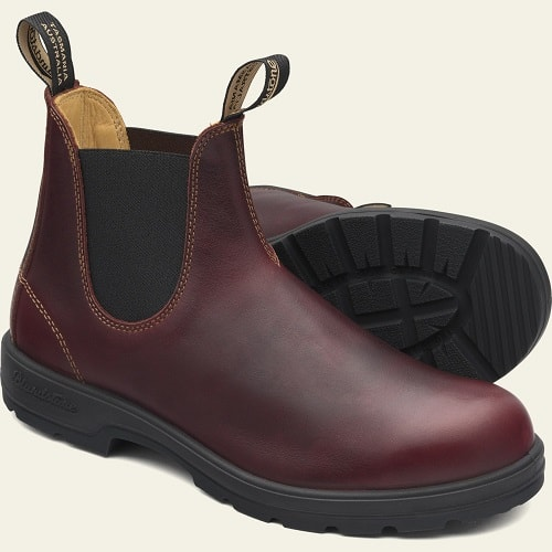 Blundstone Redwood Leather Pull-On Boots #1440