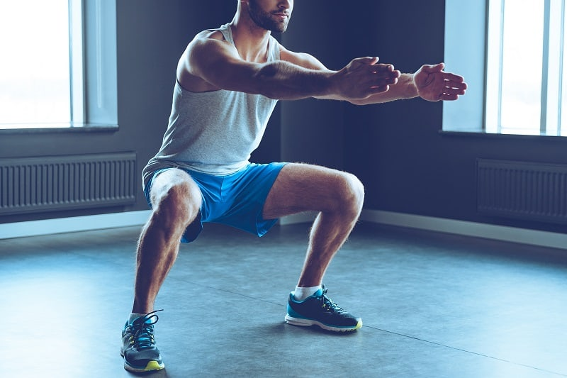 Body Squat - Exercise Routines And Home Workouts For Men