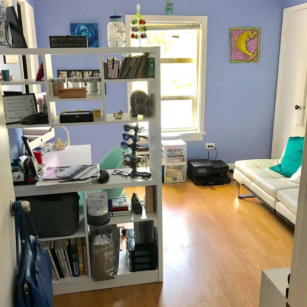 Bookcase Temporary Wall Ideas -caoimhinross