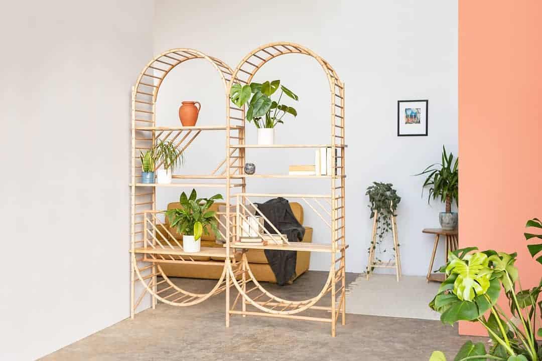 Bookcase Temporary Wall Ideas -johneadon1
