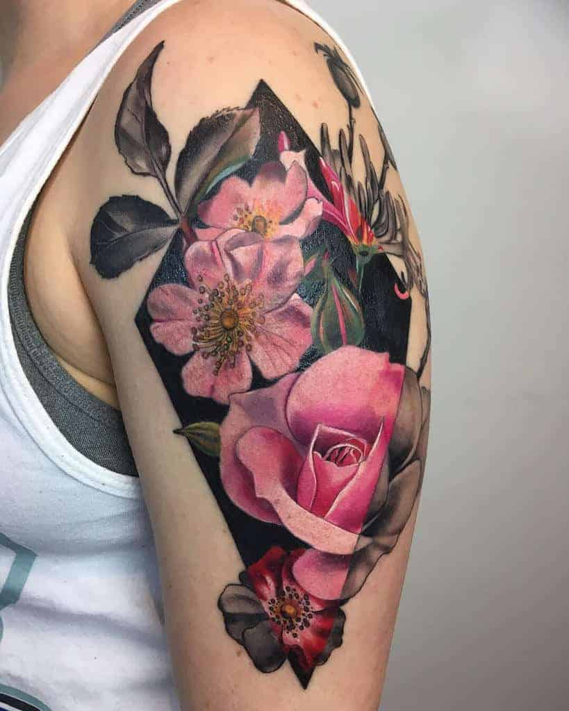 Botanical-honeysuckle-tattoos-sacredart.london