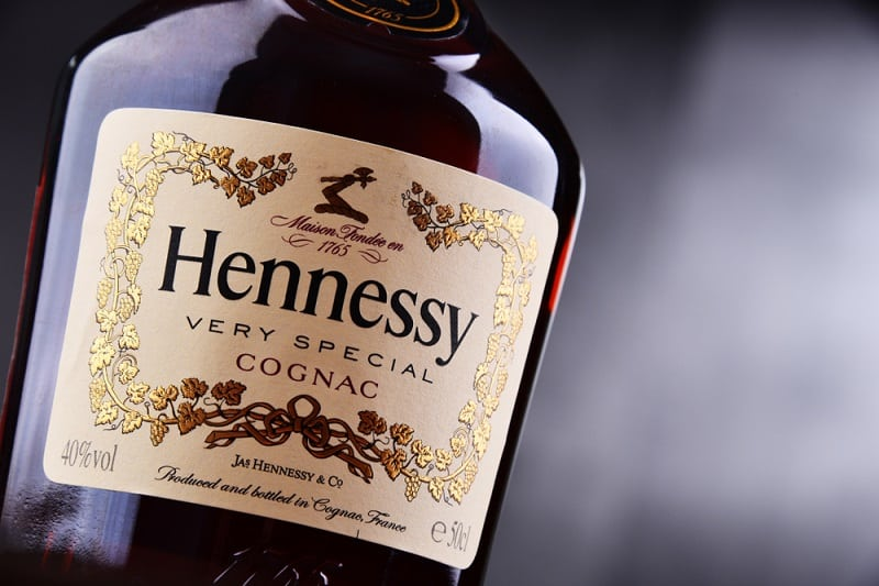 Bottle Of Hennessy Cognac