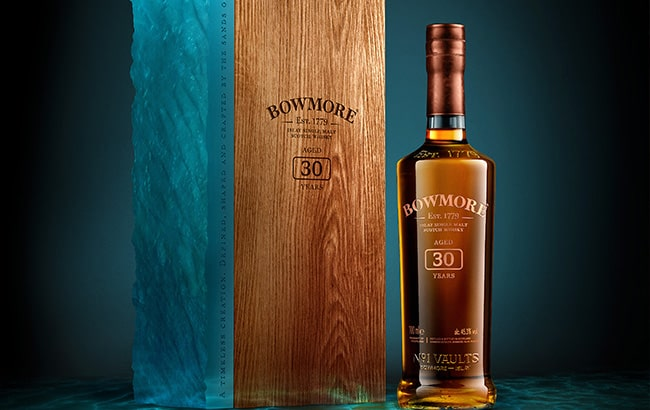 Bowmore30Year Single Malt ReleasePart of Art of Time Campaign