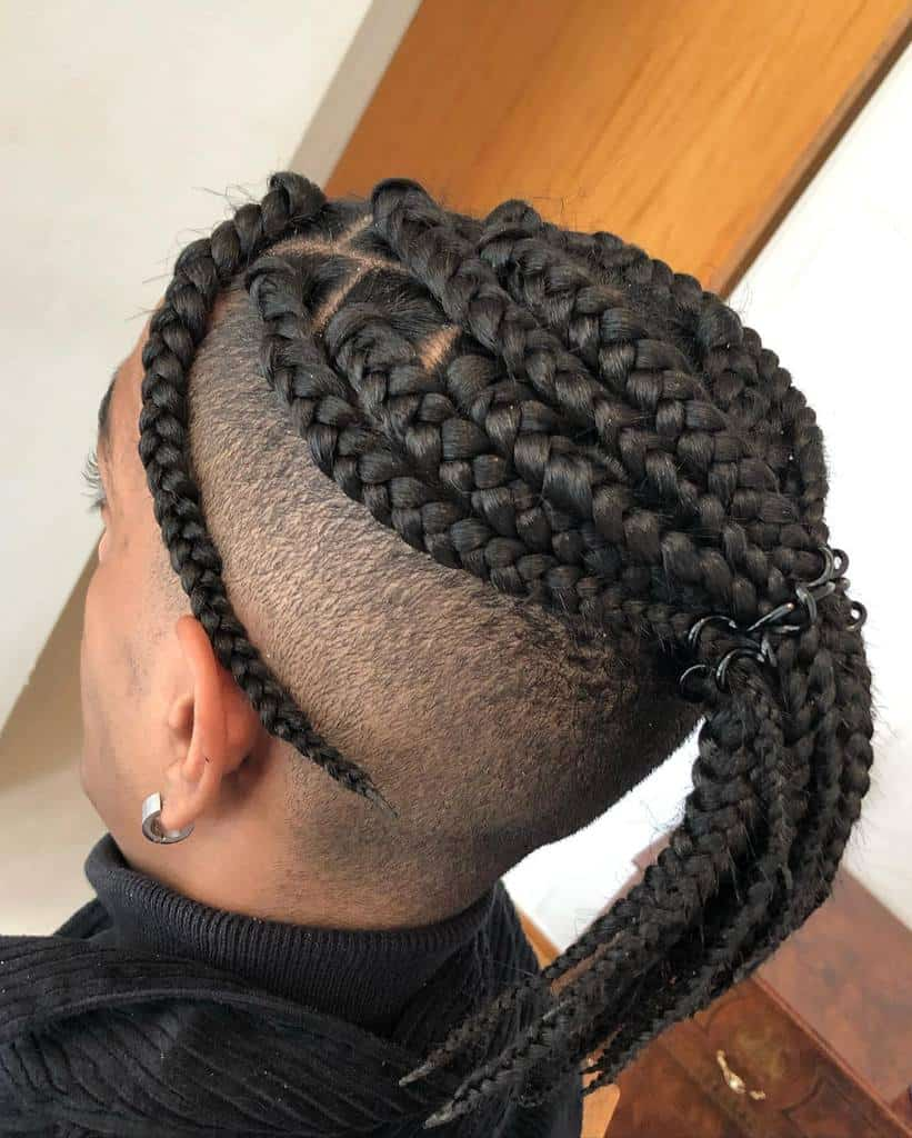 Box Braids With Hair Extensions