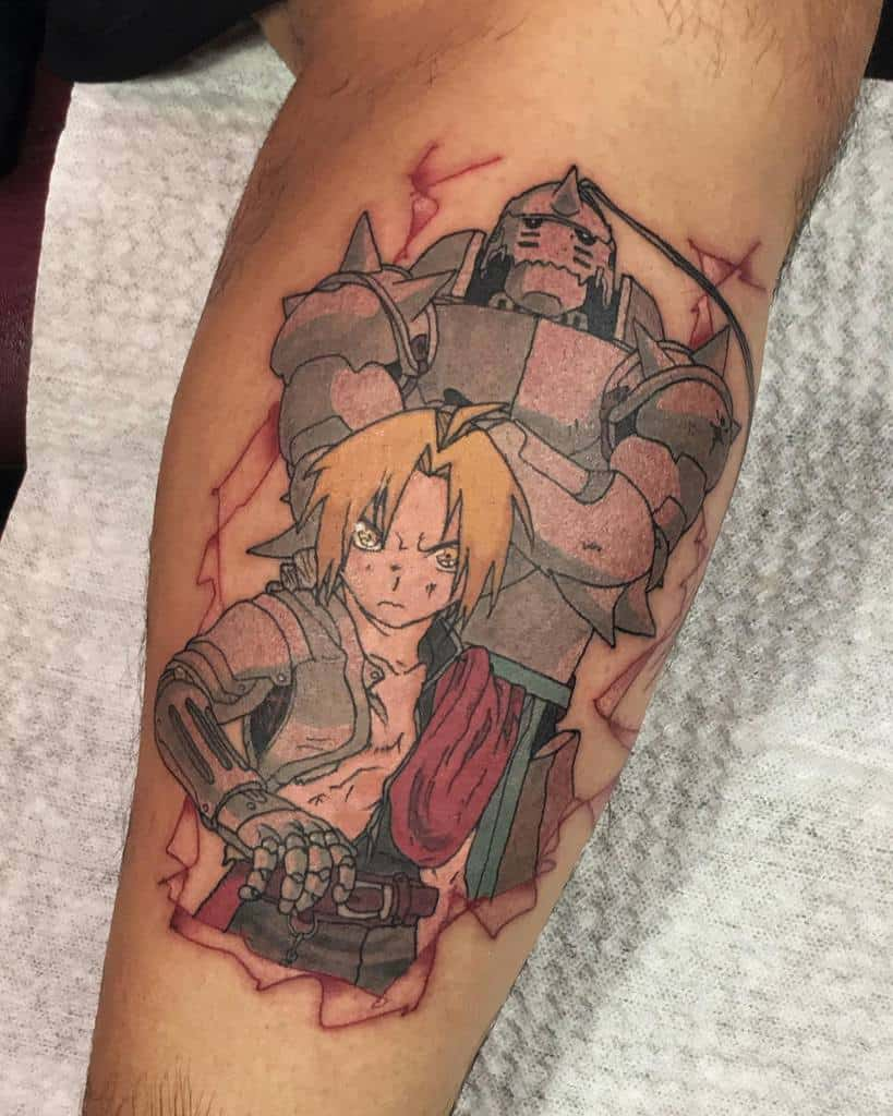 Brothers Eric And Alphonse Full Metal Alchemist Boiled.frogs
